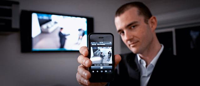 Videoüberwachung mit Smartphone