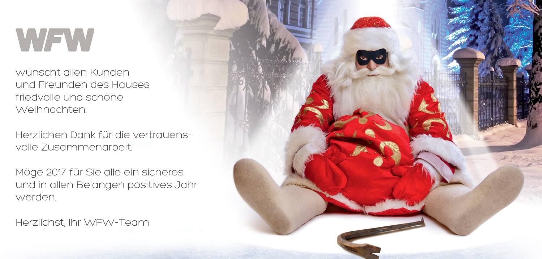 WFW Weihnachten Alarmanlagen Heidenheim