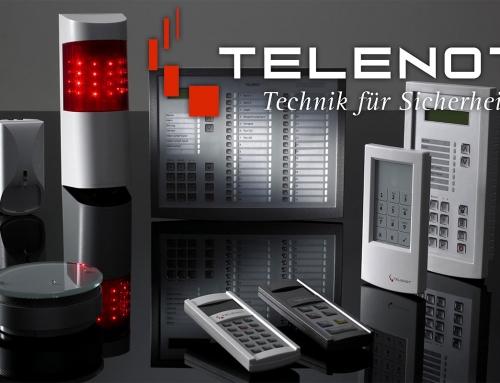 TELENOT… unser neuer Partner für innovative Sicherheit !