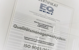 WFW DIN ISO 2001